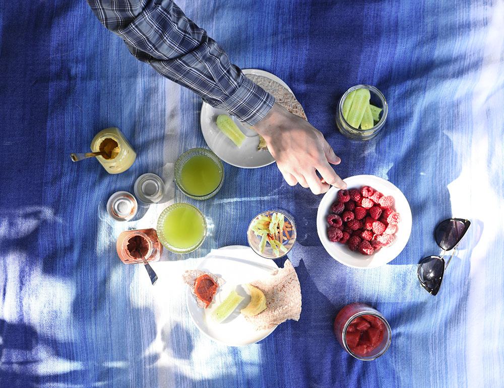 piknik, joulenka, matcha, przepis, napój herbaciany, herbata gazowana