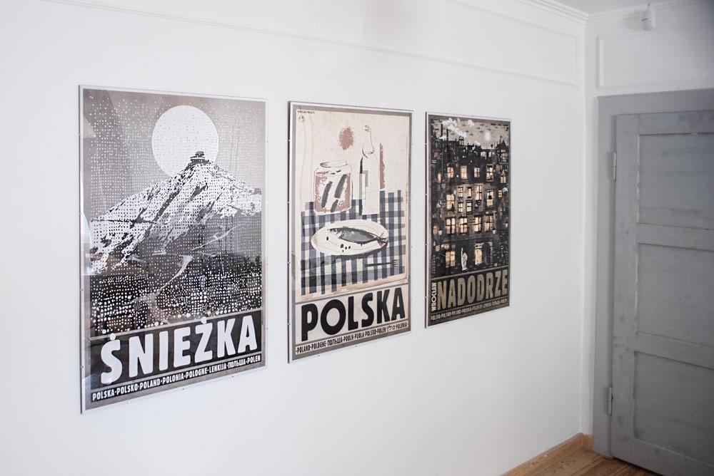 Galeria Plakatu Ryszard Kaja Polska śnieżka Nadodrze W