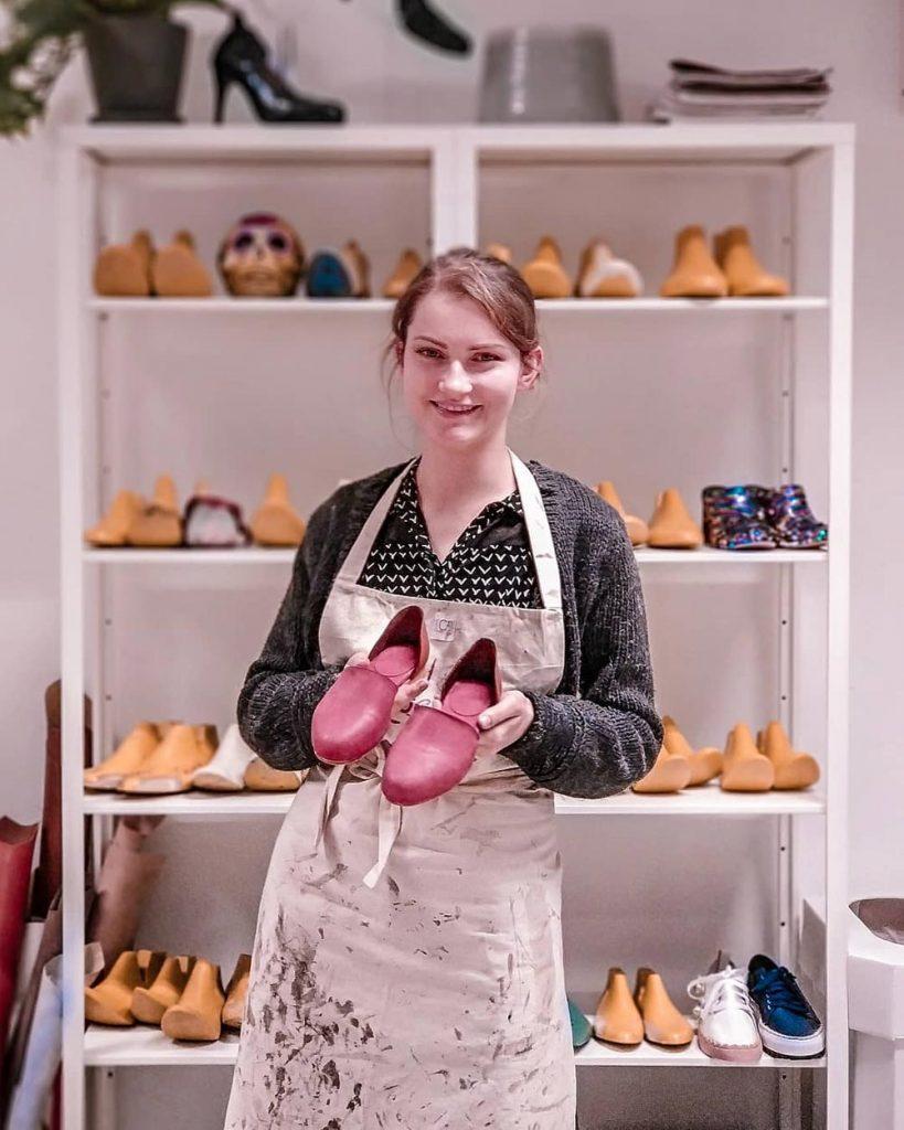 jak zrobić buty - buty handmade zrobione na warsztatach