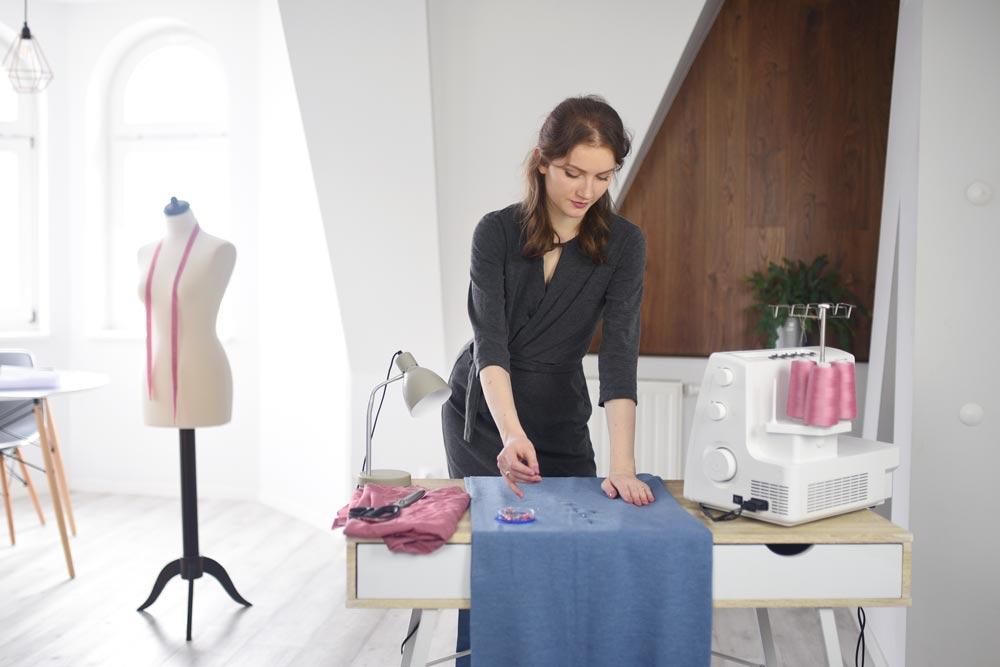 jak zacząć szyć ubrania