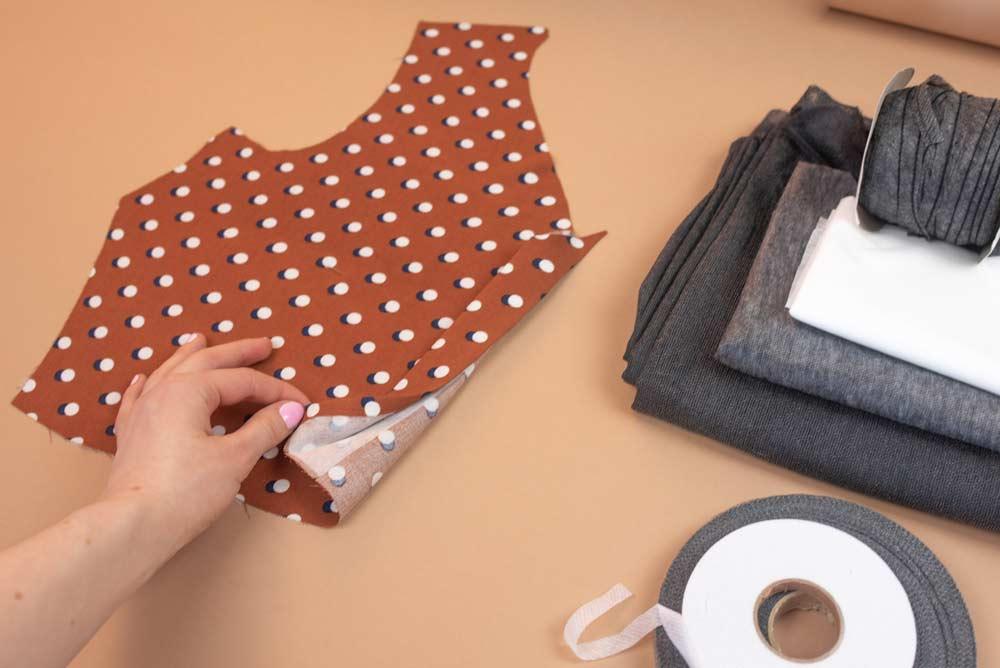 flizelina wkłady odzieżowe