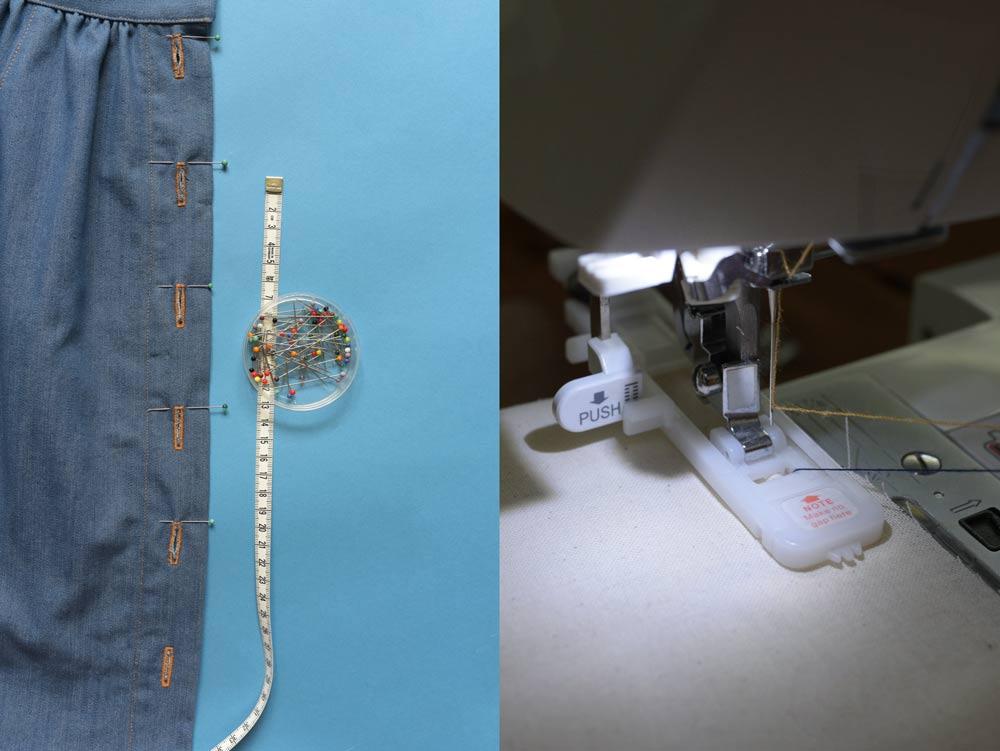 Jak szyć dziurki na guziki na maszynie domowej?